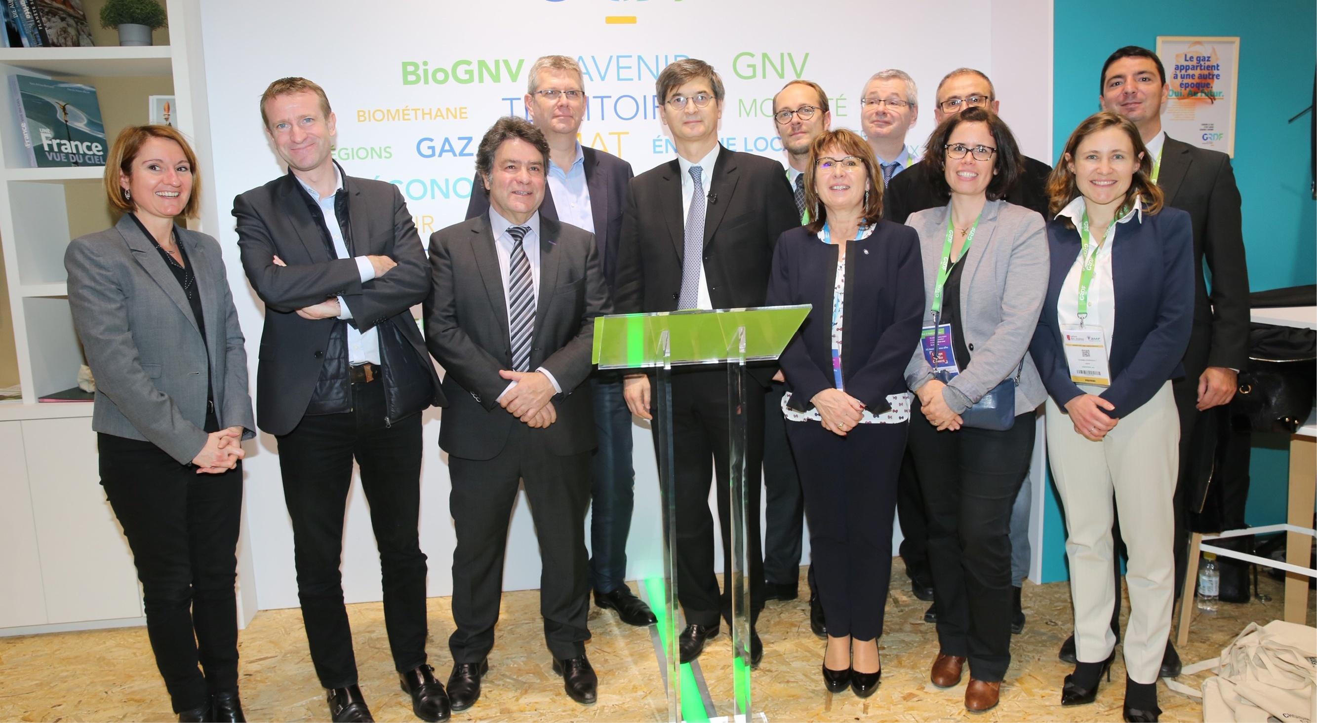 Nouveaux partenariats en faveur de la filière biométhane