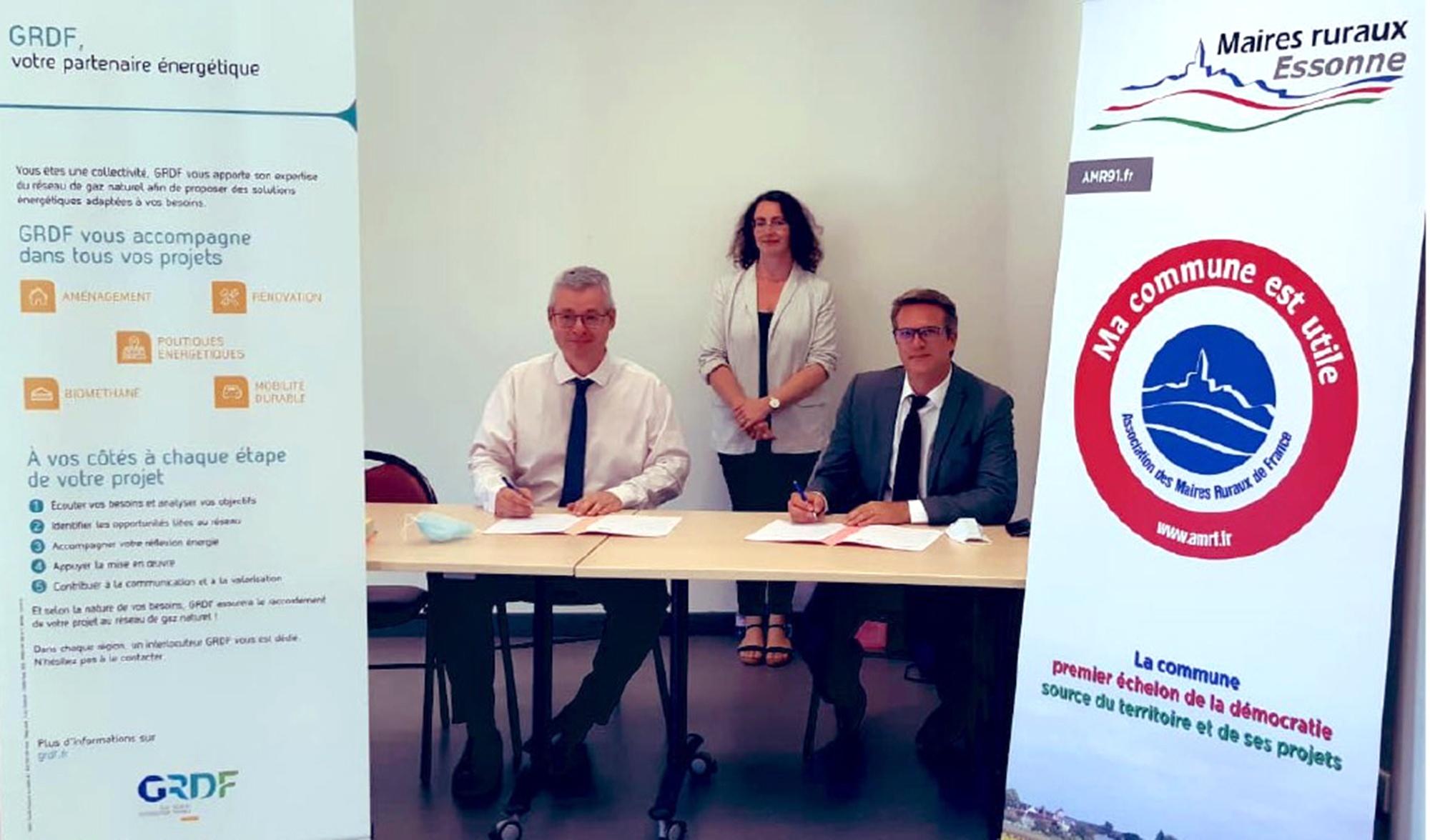 L'AMR et GRDF, partenaires de la transition