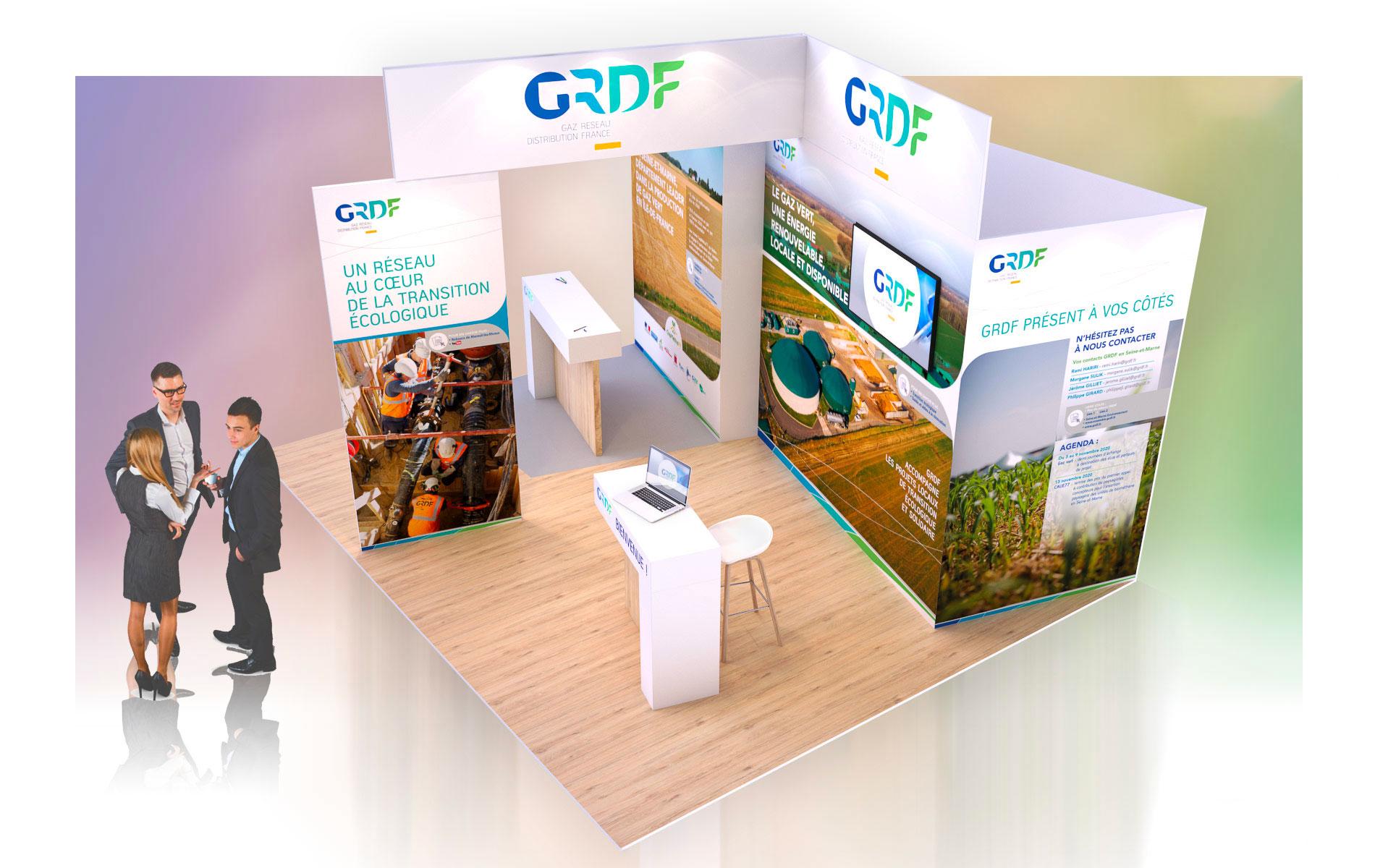 Découvrez le premier stand digital de GRDF dédié à l'actualité du gaz vert en Seine-et-Marne!