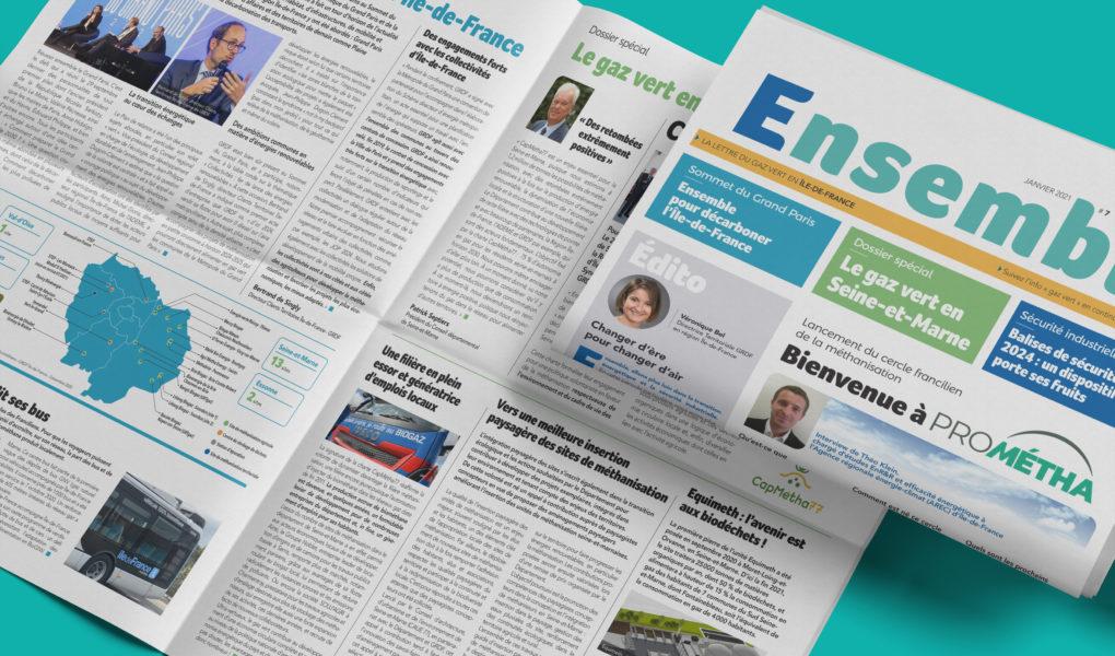 Ensemble GRDF le blog d'actualités dédié au gaz vert en Île-de-France