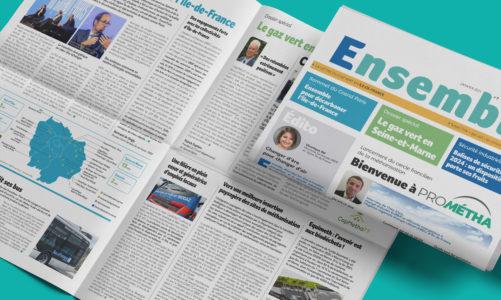 Découvrez la nouvelle formule interactive de la newsletter Ensemble!