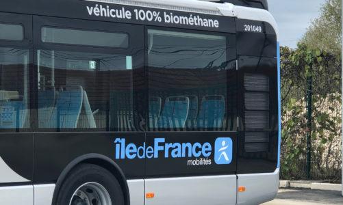 Transformation énergétique des bus en Île-de-France :  vers 70 % de bus roulant au gaz vert