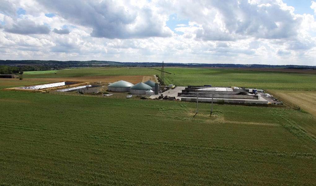 Unité de méthanisation à Meaux,biométhane Île-de-France prométha
