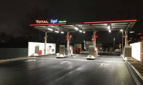 Une nouvelle station-service au GNV/BioGNV à Noisy-le-Grand