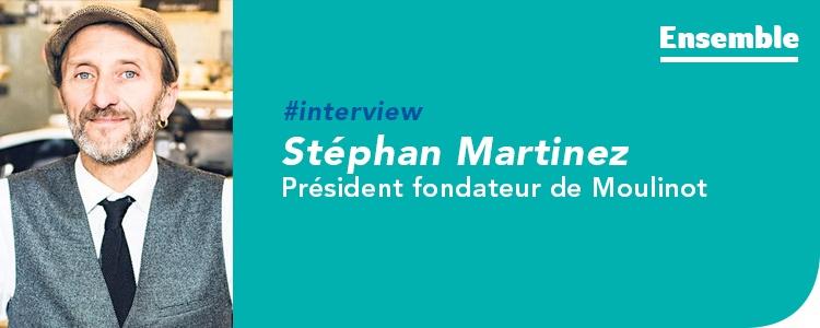Interview pour Ensemble, le blog GRDF dédié au gaz vert en Île-de-France, de Stéphan Martinez, président fondateur de Moulinot