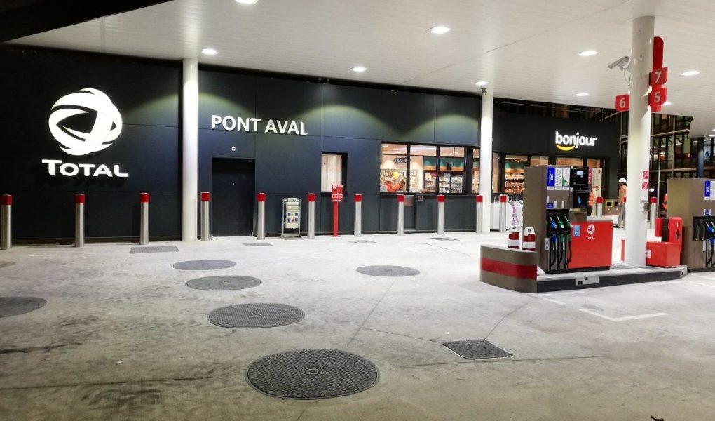La 1re station aux carburants écologiques (GNV/BioGNV) du périphérique parisien