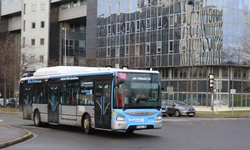 56 nouveaux bus au biométhane pour la communauté d'agglomération de Cergy-Pontoise