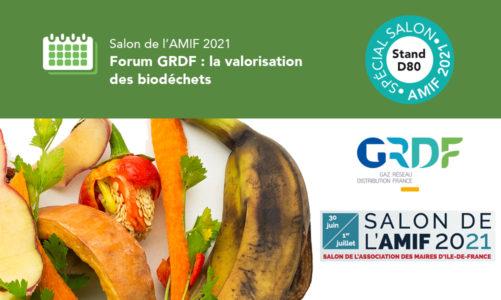 Salon de l'AMIF 2021 Lavalorisation des biodéchets