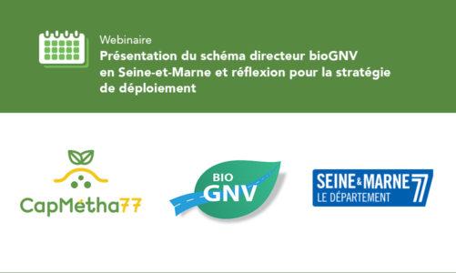 Présentation du schéma directeur BioGNV en Seine-et-Marne et réflexion pour la stratégie de déploiement