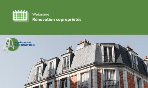 Webinaire Rénovation copropriétés