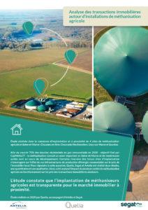 Analyse des transactions immobilières autour d'installations de méthanisation agricole