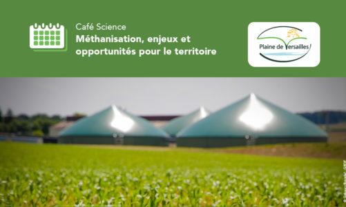 Café Science : Méthanisation, enjeux et opportunités pour le territoire
