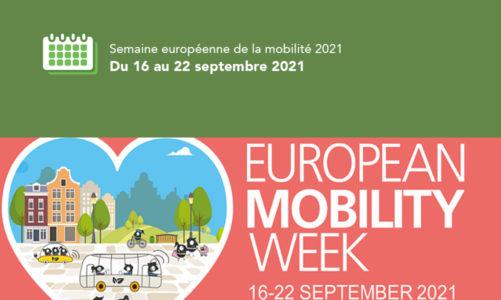 20e année de la Semaine européenne de la mobilité sous le slogan « Restez en forme. Bougez durable. »