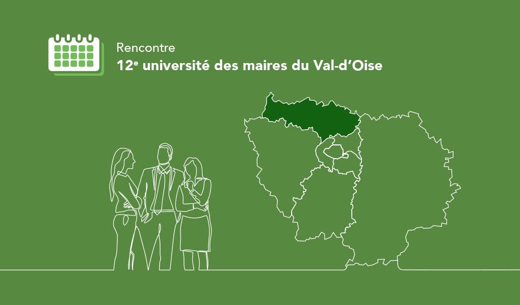 Douzième université des maires du Val-d'Oise (95)