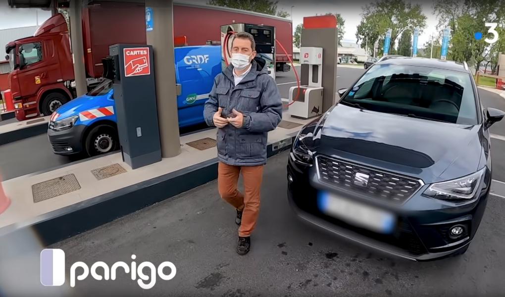 Le GNV/BioGNV peut-il devenir le carburant écolo de demain ? Émission Parigo France 3 Île-de-France