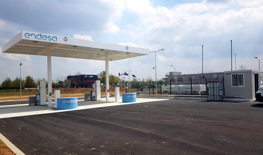 Nouvelle station service GNV BioGNV Seine-et-Marne Île-de-France