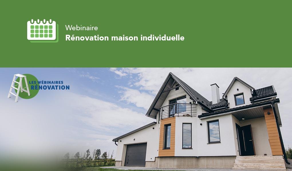 Webinaire rénovation gaz maison individuelle