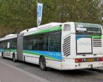 Bus roulant au gaz naturel pour véhicule (GNV)