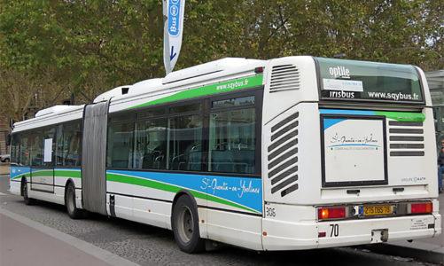Trappes: le dépôt de bus passe au gaz pour verdir sa flotte
