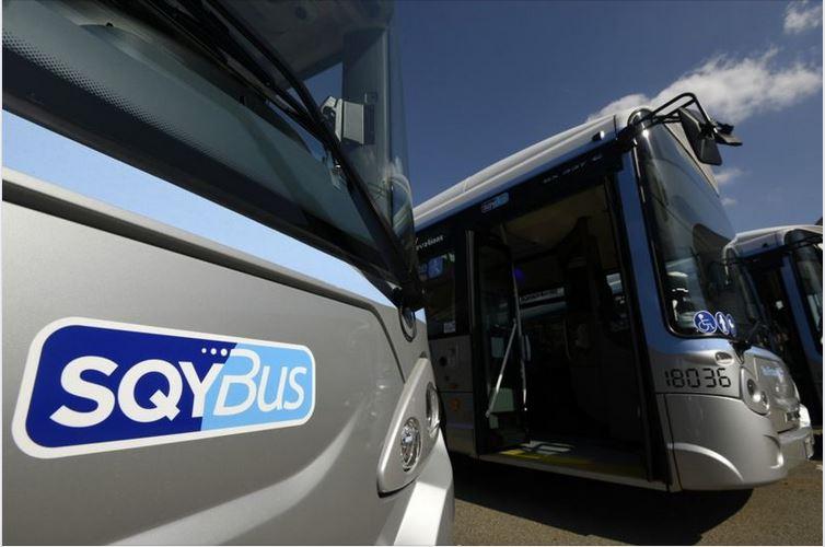 Bus SQYBus roulant au gaz naturel pour véhicule GNV/BioGNV